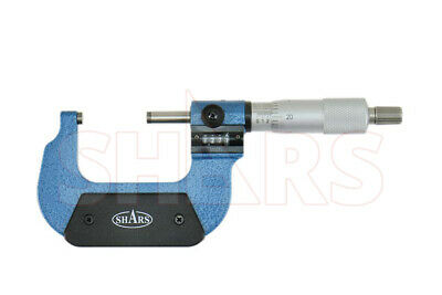 "Shars 1 -  2"" Digital Digit Outside Micrometer .0001"" Ratchet Thimble"