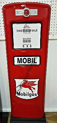 New Mobil Mobilgas Pegasus Gas Pump Front Door Display - Free Shipping*