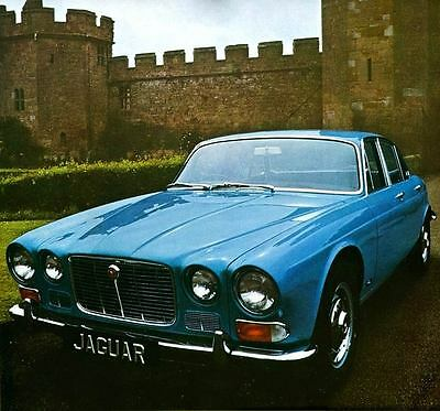 1970 Jaguar XJ6 Fortress Automobile Photo Poster zua5101-8QTBFR