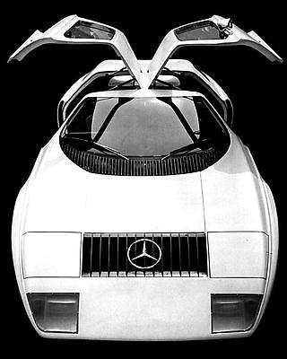 1970 Mercedes C111 Rotary Automobile Photo Poster zua5115-EY72ZM