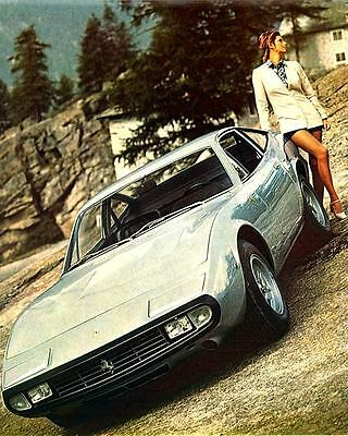 1972 Ferrari 365GTC4 Coupe Automobile Photo Poster zua5252-3F8KSN