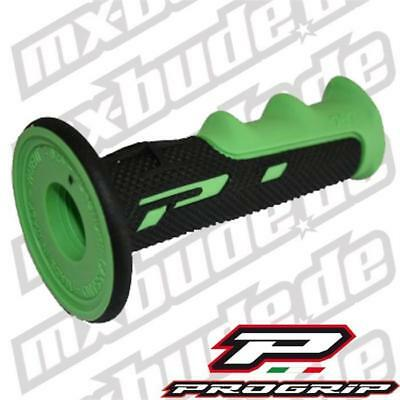 Progrip MX Griffe 797 soft touch schwarz-grün Motocross Enduro Cross MTB Quad