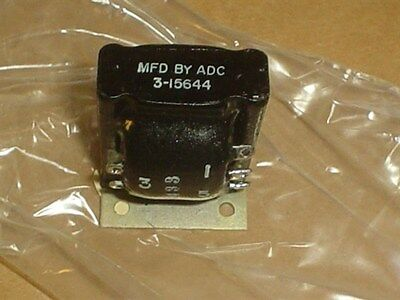 Mil-Spec ADC Audio Transformer Part # 3-15644 150 / 300 Ohm 500 Milliwatts
