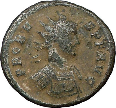 PROBUS 281AD Genuine Authentic Ancient Roman Coin Victory Nike  i18871