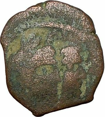 King Aretas IV Queen Shaqilat Nabataean 9BC Ancient Greek Coin Prosperity i24032