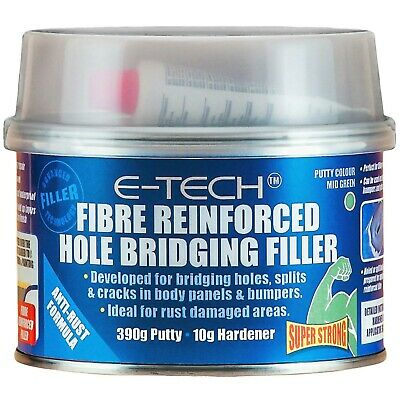Cars Hole, Crack & Rust Damage Repair Fibre Reinforced Hole Bridging Body Filler