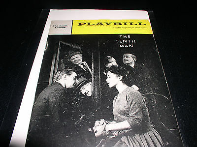 The Playbill  December 19, 1960 The Booth  Theatre""