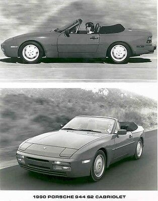1990 Porsche 944 S2 Cabriolet ORIGINAL Factory Photo aa2406-D7JOYC