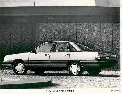 1984 Audi 5000S Turbo ORIGINAL Factory Photo aa2522-GCPOT8