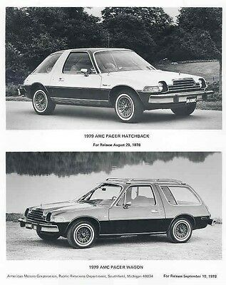 1979 AMC Pacer Hatchback & Wagon ORIGINAL Factory Photo aa3465-A6V5HP