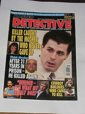 Master Detective September 2012 - Nick Mcguffin/allen Tiny Davis/david Cook