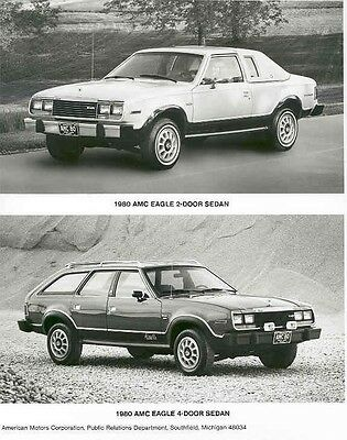 1980 AMC Eagle 2 Door & 4 Door Sedan ORIGINAL Factory Photo aa937-8WKE6R