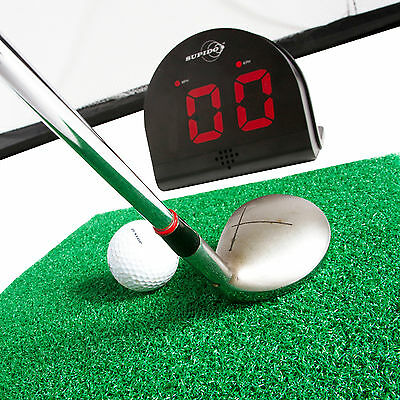 GOLF SWING SPEED RADAR GUN SPORTS SENSOR MEASURES IN MPH & KPH (km/h) + 24 BALLS