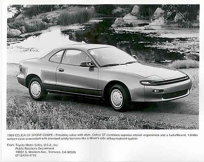 1990 Toyota Celica ST Sport Coupe ORIGINAL Factory Photo ab2366-2C65FI