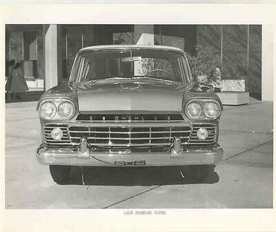 1958 AMC Rambler Super ORIGINAL Factory Photo ab8602-5B8XPW