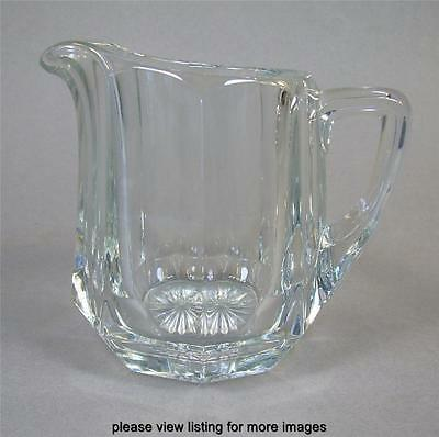 Vintage Heisey Depression Glass Flat Panel Colonial Creamer Cream Pitcher 2