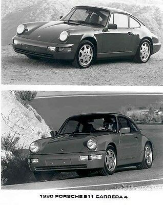 1990 Porsche 911 Carrera 4 ORIGINAL Factory Photo ac5289-WADZ2G