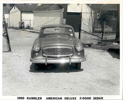 1960 AMC Rambler American Deluxe ORIGINAL Factory Photo H194-5X3LCE