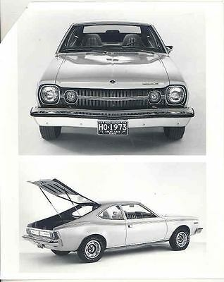 1973 AMC Hornet ORIGINAL Factory Photo H3474-RDZKUW