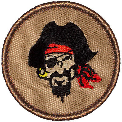 #682 The Cow Bone Pirate Patrol Patch!! Crazy Boy Scout Patches