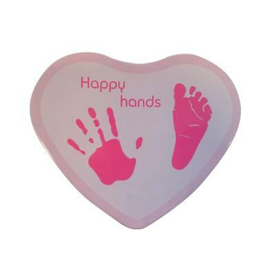 Xplorys Happy Hands Hand & Footprint Tin Moulding Kit (Pink)
