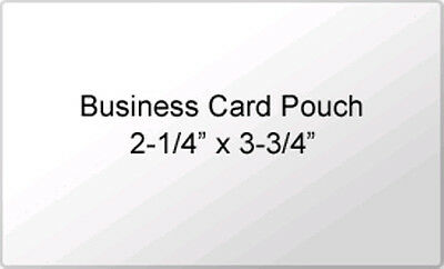 Business Card Size 5 mil Laminating Pouches Box of 2500 Heat Sealing