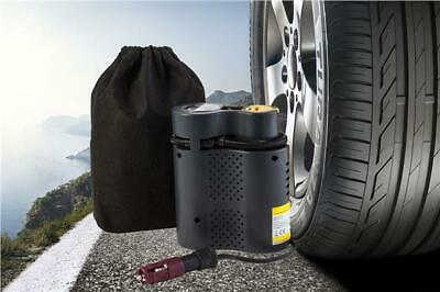 Air Aux Plug Tyre Inflater Pump Compact Quality Air Travel Compressor