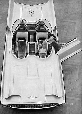 1956 Lincoln Futura Concept Factory Photo Batmobile  ua3993-KB77YK