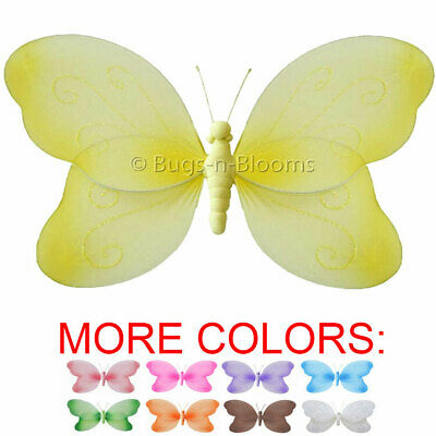 BUTTERFLY DECOR CEILING Hanging Girl Room Home Baby Nursery Nylon ...
