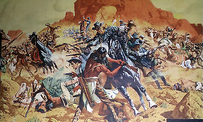 PAINTED DESERT ARIZONA 22x28 FRANK MCCARTHY artwork original 1964 movie poster