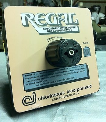 Regal A-756 Automatic Switchover Gas Sulphonator