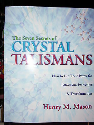 Brand New! 7 Secrets Of Crystal Talismans Amulets Gemstones Color Rays Magick