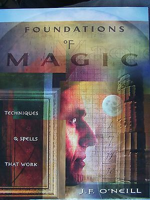 Brand New! Foundations Of Magic Spells Manifest Your Desires Pr