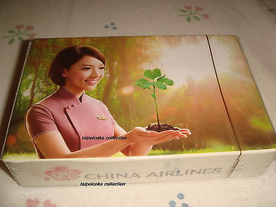 """Taiwan CHINA AIRLINES Playing Card """" Plant a Seed of Happiness """""""