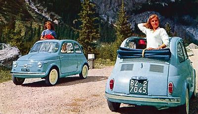 1958 Fiat 500 Factory Photo ua4127-5BO5JI