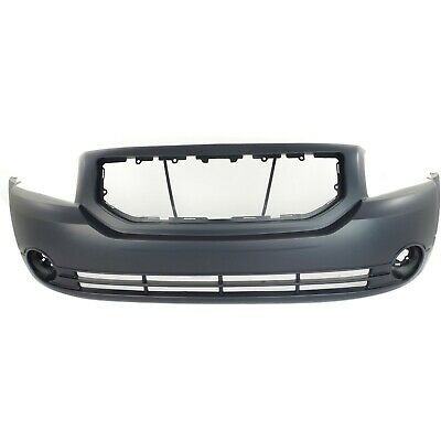 Front Bumper Cover For 2005-2007 Dodge Grand Caravan w// fog lamp holes Primed