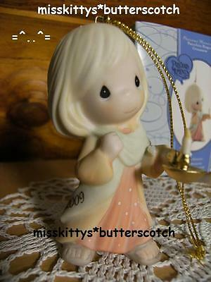 Precious Moments~ORNAMENT~DATED 2009~910002~May Your FAITH Light The Way~Candle