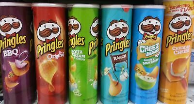 Pringles Chips 5.96 Oz  Big Canister Multiple Flavors Available