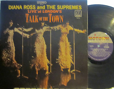 """► Diana Ross and the Supremes - Live at London's """"Talk of the Town"""" (Motown 676)"""