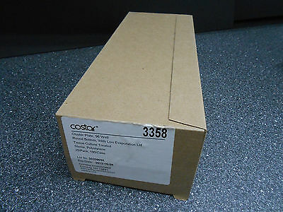 CORNING COSTAR 3358  96 WELL ROUND BOTTOM CLUSTER PLATES, STERILE 20/pk EXP 2012