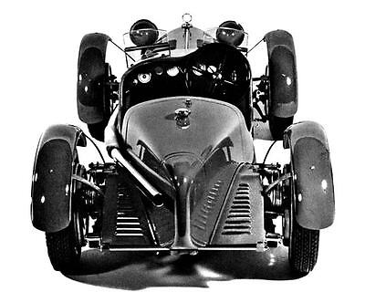 1931 Alfa Romeo 8c 2300 Monza Pocher Model Photo Ua5092 S89aep