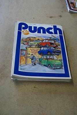 PUNCH ANTIQUE MAGAZINE IDEAL SPECIAL BIRTHDAY July 2, 1980
