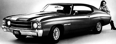1971 Chevrolet Chevelle Heavy Chevy Factory Photo ua5289-LUUWKE