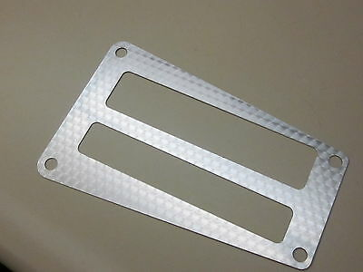 1979-81 trans am  console shifter plate with silver swirl pattern