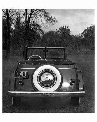 1949 Willys Overland Jeepster Factory Photo ub0952-XJKSKC