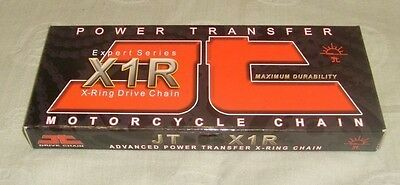 JT Chain Motorcycle Chain 530 x 120 Links Long Black X Ring BRAND NEW