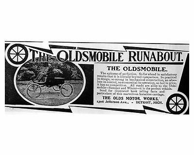 1901 Oldsmobile Runabout Factory Photo ub1637-HG8UUQ