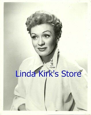 "Eve Arden Promotional Photograph ""Our Miss Brooks"" CBS-TV 1950s"