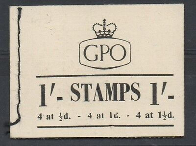 GVI - 1952. BD10. 1s booklet. Fine and complete.