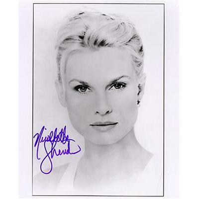 Superstar Greetings Nicollette Sheridan Signed 8X10 Photo B&W NS-8a